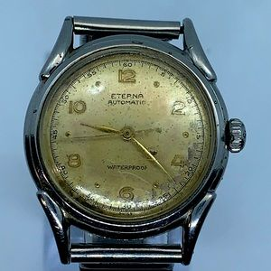 1948 Vintage Eterna Automatic Men's Watch WORKING